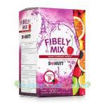 Donutt Fibely Mix โดนัท ไฟบิลี่ มิกซ์ [20 ซอง] ช่วยระบบขับถ่าย บรรเทาอาการท้องผูก ช่วยปรับความสมดุลให้กับร่างกาย