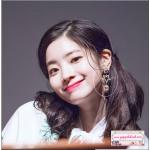 ต่างหูแฟชั่นสไตล์เกาหลี New Luxury Shiny Rhinestone Star Crystal Long Drop Earrings