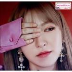 ต่างหูแฟชั่นไอดอลเกาหลี European Long Dangle Crystal Cross Fashion Drop Earring