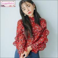 เสื้อผ้าแฟชั่นนำเข้าสไตล์เกาหลีคุณภาพเกรดพรีเมียม Lady Ribbon, Seoul Secret, Cliona, 2Sister, Odee&Cutie, Lavida, Sevy / เสื้อผ้าแฟชั่นชีฟองลายดอก สไตล์เกิร์ลลี่ วินเทจ