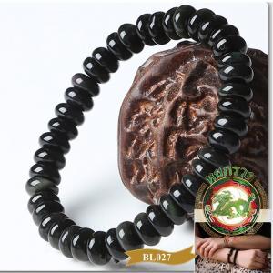 BL0027สร้อยข้อมือ หิน Obsidian Shenzi