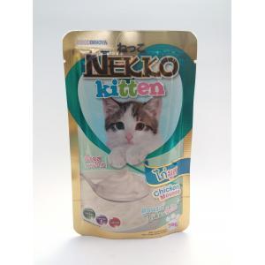เน็กโกะ เพาซ์ สูตรลูกแมว ไก่มูส 12ซอง