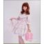 กระเป๋าสะพายวินเทจสไตล์เกาหลี เบบี้พิงค์ไว้ท์ Vintage So Sweet for Girly ไซส์ 12 หรือ 14 นิ้ว Baby pink PU Leather Vintage Korea Style (Pre-order ราคาสินค้าแต่ละไซส์อยู่ด้านในค่ะ) thumbnail 96