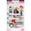 """เลิกผลิต+++กระเป๋าเดินทางล้อลากลายจุด PC+ABS Lovely Candy Polka dot Korea Style """"PINK"""" มี 2 ไซส์ คือ 20"""" และ 24"""" (Pre-order) ราคาสินค้าด้านในนะคะ thumbnail 47"""