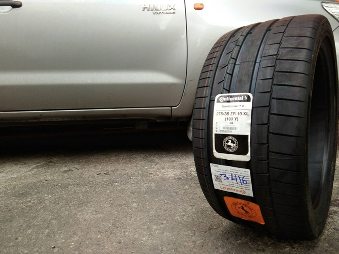 CONTINENTAL CONTACT 6 275/35ZR19
