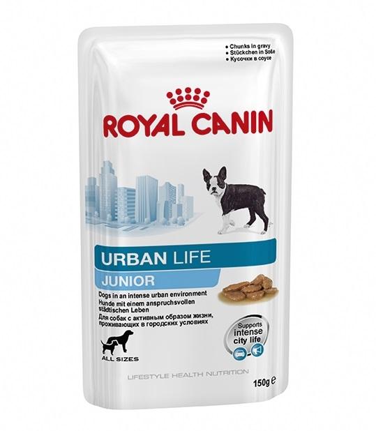 Royal Canin Pouch Urban Life Junior ส่งฟรี
