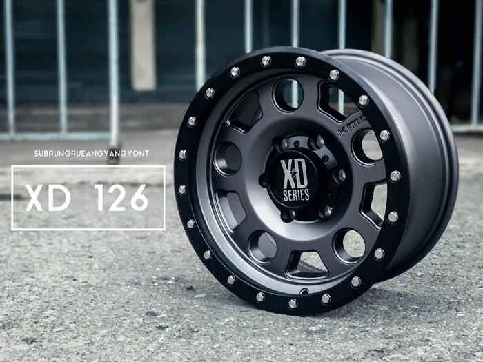 XD126 ขอบ16 สีกันเมทาลิก