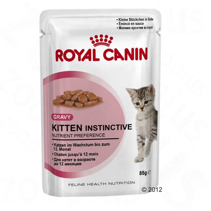 รอยัลคานิน เพาซ์ Kitten Instinctive Gravy 48ซอง ส่งฟรี