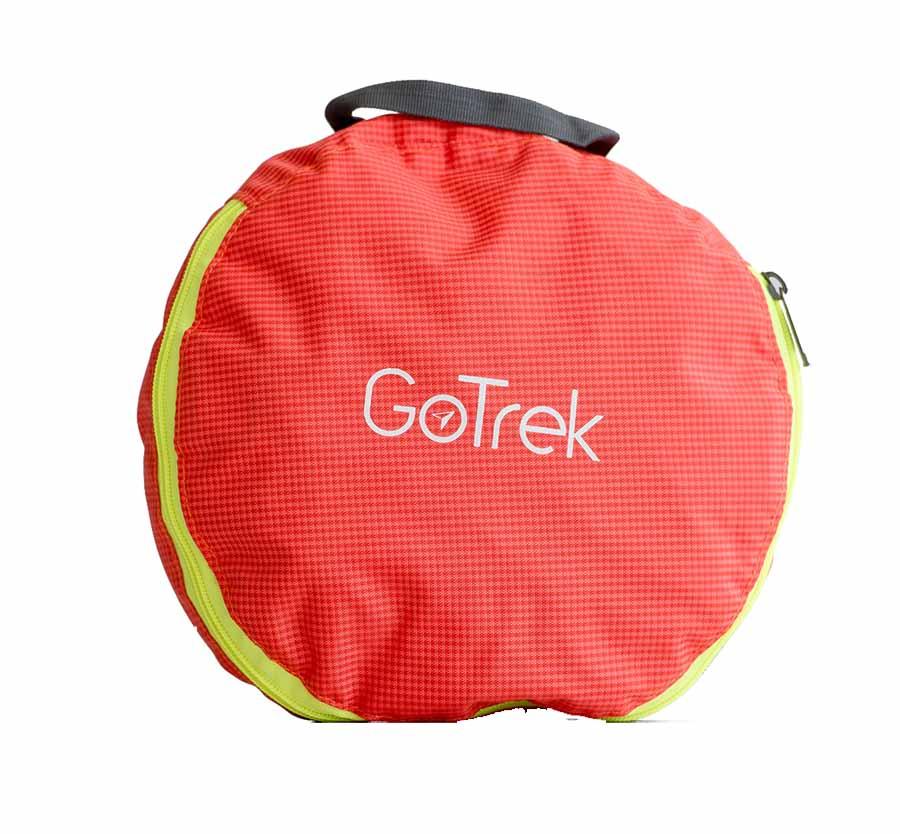 Gotrek B-01F กระเป๋าเป้ฟิตเนสพับได้ สีส้ม