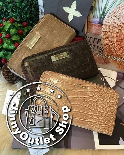 MANGO / MNG Touch Croc Wallet