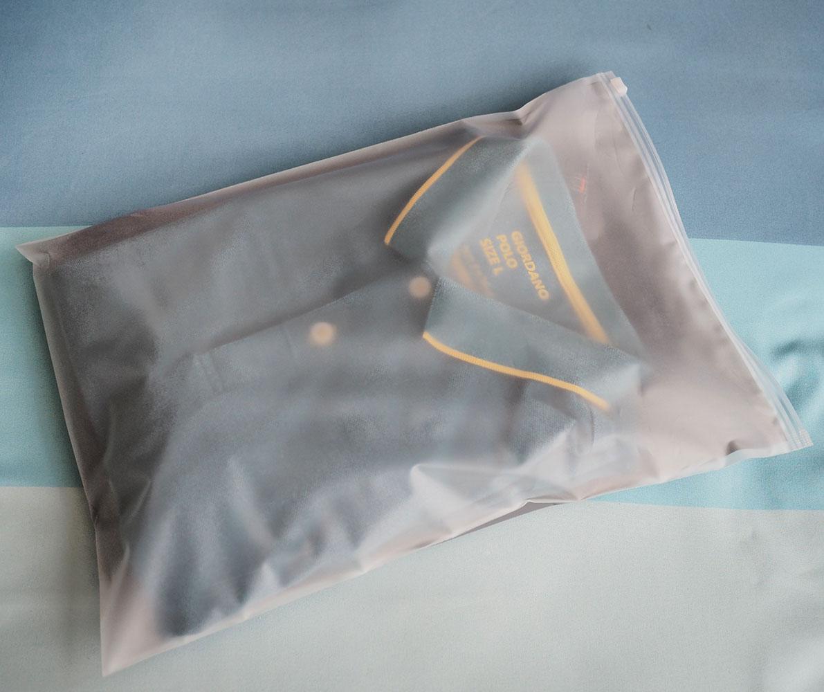 [เซต 3 ชิ้น] ถุงซิปรูดเอนกประสงค์ สำหรับใส่ของจัดระเบียบกระเป๋า Size L 3 ชิ้น