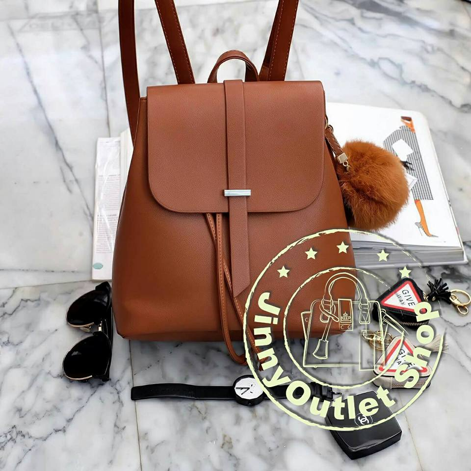 KEEP Suprem Backpack ( Classic Brown )