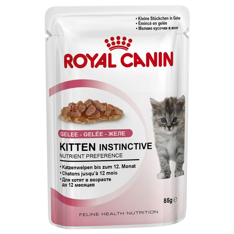 รอยัลคานิน เพาซ์ Kitten Instinctive Jelly 48ซอง ส่งฟรี