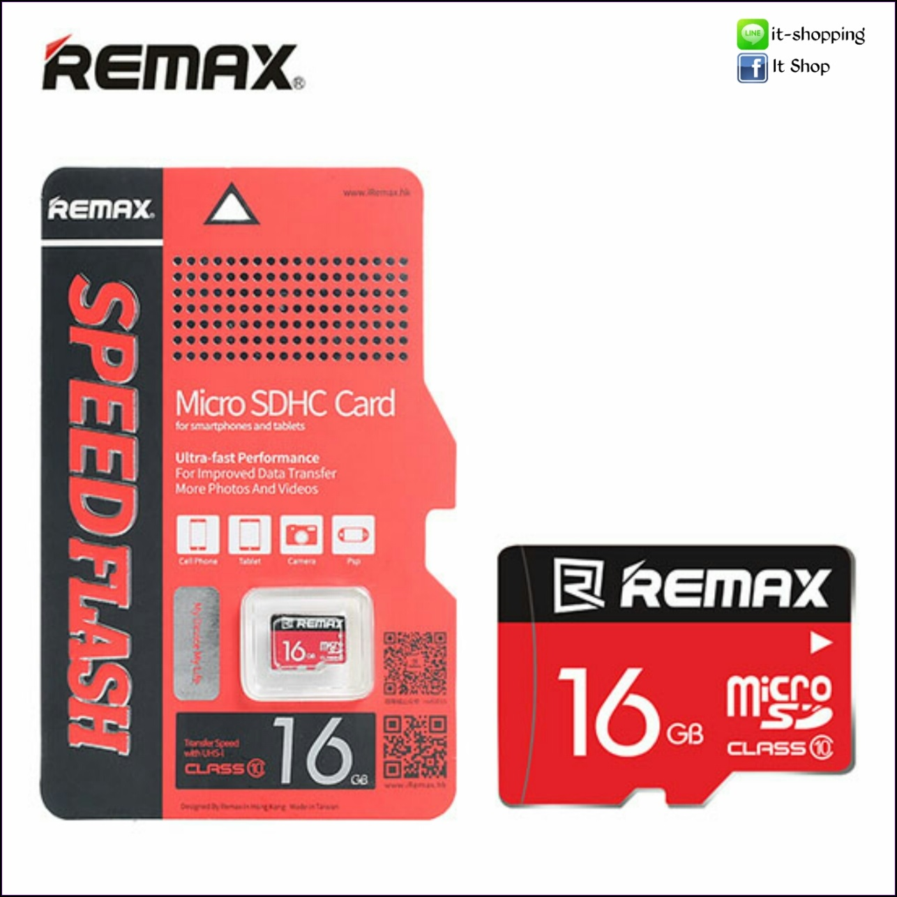 Micro SD Card Remax 16 GB