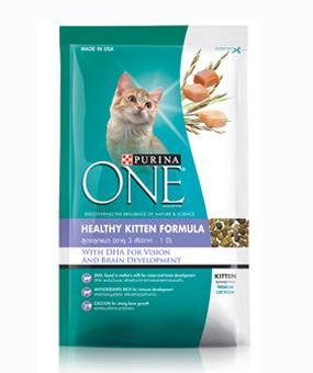 เพียวริน่าวัน สูตรลูกแมว 1.3 กิโลกรัม 6ถุง ส่งฟรี