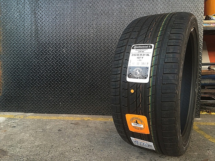 CONTINENTAL CrossContact UHP NO 295/35R21