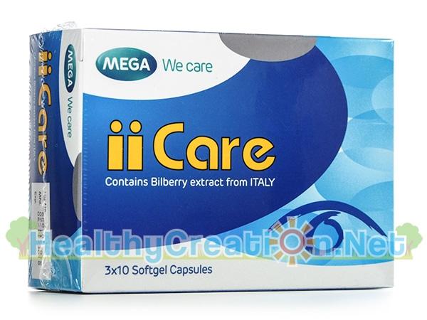 Mega We Care iiCare เมก้า วีแคร์ ไอ แคร์ 30 แคปซูล