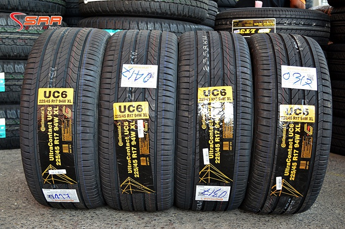 Continental UltraContact UC6 225/45R17