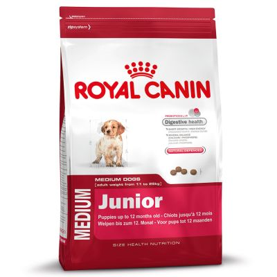 Royal Canin Medium Junior 10 กิโลกรัม ส่งฟรี