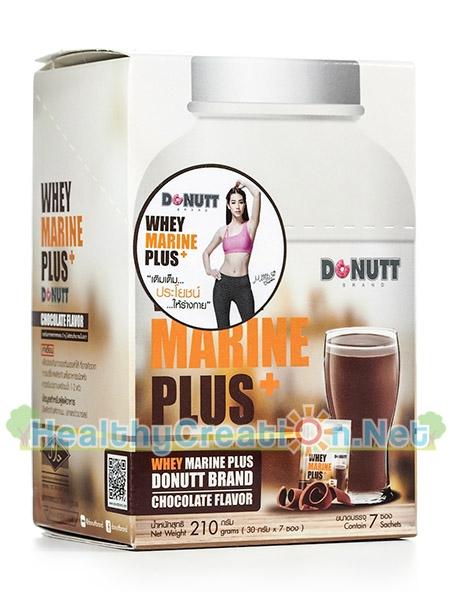 Donutt Whey Marine Plus โดนัท เวย์ มารีน พลัส รสช็อกโกแลต บรรจุ 7 ซอง