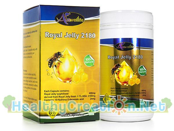 [ส่งฟรี Ems]AuswellLife Royal Jelly ออสเวลไลฟ์ โรยัล เจลลี่ นมผึ้งคุณภาพสูง มีความเข้มข้นสูง คืนความอ่อนเยาว์บำรุงและฟื้นฟูร่างกาย