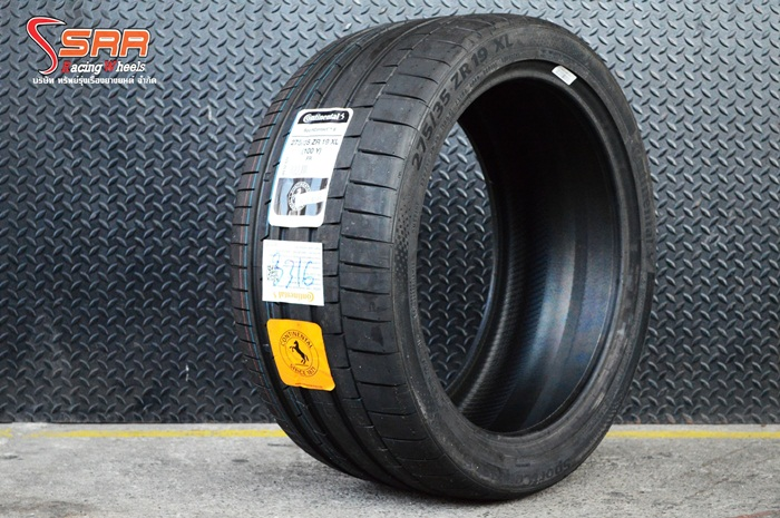 CONTINENTAL SportContact 6 275/35ZR19
