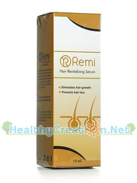 เซรั่ม Remi Hair Revitalizing Serum เรมิ แฮร์ เรไวเทไลซิ่ง เซรั่ม [15 ml.] ลดผมร่วง เร่งผมเกิดใหม่ ยืดอายุ Life Cycle ของเส้นผม