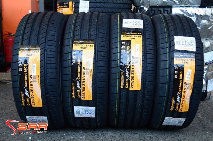 Continental ContiMaxContact MC5 225/50ZR18 ปี17