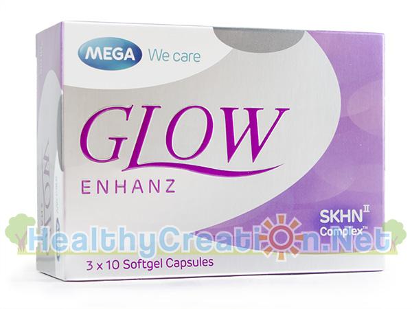 Mega We Care Glow Enhanz เมก้า วี แคร์ โกรว์ เอนฮานซ์ บรรจุ 30 แคปซูล ช่วยเสริมสร้างคอลลาเจน เพื่อสุขภาพผิวและสุขภาพกายที่ดี