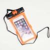 M-60H ซองกันน้ำโทรศัพท์มือถือขนาดไม่เกิน 6 นิ้ว ลงน้ำลึก 30 เมตร สีส้ม