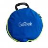 Gotrek B-01F กระเป๋าเป้ฟิตเนสพับได้ สีฟ้า