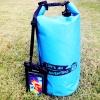 ชุด Set ซองกันน้ำมือถือใหญ่ (5.5 นิ้ว) สีดำ + กระเป๋ากันน้ำ Penguin Bag ขนาด 10 ลิตร