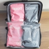[เซต 5 ชิ้น] ถุงซิปรูดเอนกประสงค์ สำหรับใส่ของจัดระเบียบกระเป๋า Size S 2 ชิ้น Size M 2 ชิ้น Size L 1 ชิ้น