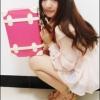 """กระเป๋าสะพายวินเทจสไตล์เกาหลี สีชมพูเข้มคาดขาว ไซส์ 12"""" หรือ 14"""" Red Rose / White Beauty Bag Korea Style for Vintage Girl (pre-order) *ราคาสินค้าอยู่ด้านในค่ะ"""