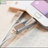 ขายสายชาร์จ 2 in 1 ชาร์จได้ทั้ง iphone และ andriodในเส้นเดียว