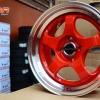 S1R DS-021 ขอบ15 สีแดงขอบเงา