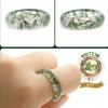 R0014แหวนปลอกมีด หิน Moss Agate