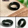 แหวนหยกปอกมีด nephrite สีนิล