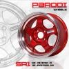 SR1 PARODI สีแดงแก้ว ขอบ15 นิ้ว