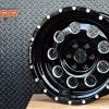 MAX-6 ขอบ16 สีดำทั้งวง สำหรับใส่รถ NAVARA