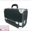 กระเป๋าเครื่องสำอางดีไซน์เมคอัพอาร์ทติสท์ สไตล์เกาหลี สีดำ Size M (W30xD15xH22cm.) Made in Korea (Pre-order)
