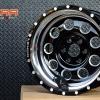 MAX-6 ขอบ16 สีดำขอบเงา สำหรับใส่รถ NAVARA