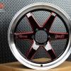 D1S TORQ Spec-D ขอบ20 สีดำคลิบแดง