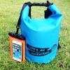 ชุด Set ซองกันน้ำมือถือเล็ก (4.5 นิ้ว) สีส้ม + กระเป๋ากันน้ำ Penguin Bag ขนาด 5 ลิตร