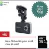กล้องติดหน้ารถ K6000 พร้อมเมม 16 GB