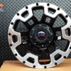 MAX-X08 ขอบ17 นิ้ว สีดำขอบเงา