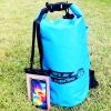 ชุด Set ซองกันน้ำมือถือใหญ่ (5.5 นิ้ว) สีชมพู + กระเป๋ากันน้ำ Penguin Bag ขนาด 10 ลิตร