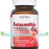 Vistra Astaxanthin 4 mg. วิสทร้า แอสตาแซนธีน บรรจุ 60 แคปซูล ช่วยต้านสารอนุมูลอิสระได้อย่างมีประสิทธิภาพสูงที่สุด