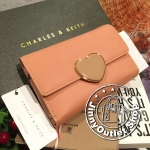 CHARLES & KEITH Wallet With Heart Closure