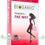 Bioganic Raspberry Fas Way ไบโอแกนิค ราสพ์เบอร์รี่ แฟ๊ส เวย์ 30 เม็ด